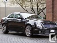 2013 Cadillac CTS-V BLACK ON EBONY W/EBONY (BLACK)