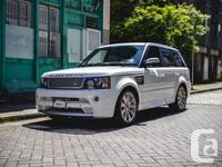 2012 Land Rover Range Rover Sport Supercharged FUJI