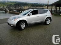 Very nice Murano is loaded with great features to spoil