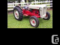1953 Ford Jubilee Tractor Fully restored New tires