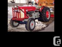 1958 Massey Ferguson 65 Gas Tractor 1958 Massey