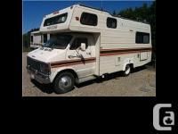 1979 Glendale Travelaire Motorhome. 1979 Glendale