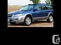 2007 Subaru Legacy Outback Blue exterior Black cloth