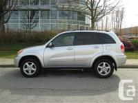 1 owner. well maintained Toyota Rav4 family s-u-v.