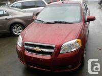 2010 CHEVROLET AVEO THIS UNIT IS IN PRISTINE CONDITION