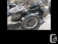 1965 Chang Jiang 750 M1M with sidecar 1964 terrific