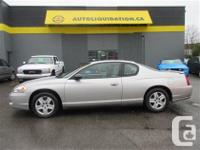 2006 CHEVROLET MONTE CARLO LS...THIS UNIT IS EQUIPPED