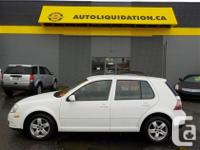 2008 VOLKSWAGEN CITY GOLF...THIS LOCAL BC UNIT IS