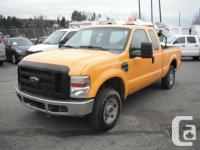 2008 Ford F-250 SD XL SuperCab Short Bed four