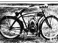 Make Gas Powered Bicycle Article With Plans Make Motor, used for sale  British Columbia