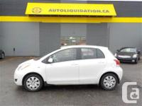 2009 TOYOTA YARIS LE...THIS LOCAL BC UNIT IS EQUIPPED