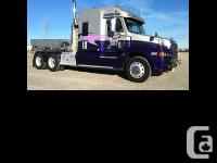 2007 Freightliner Century Class Premium Built for and