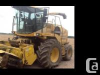2000 NEW HOLLAND FX58, 3000 hours, 800 X 32 Michelin
