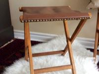 Price is for 1 stool, two are available. Vintage solid