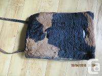 VINTAGE WW two FUR COVERED GERMAN BACKPACK - for your