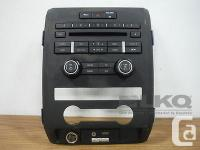 Ford F150 Raptor Radio Control Panel OEM ITEM for sale  Manitoba