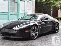 V8 engine 380 bhp with 308 pound-ft torque This Vantage