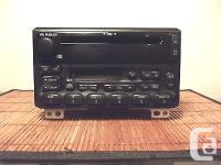 2002 MUSTANG Am/fm stereo CD Cassette Player Factory