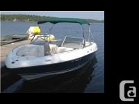 2003 Four Winns 210 Horizon Bowrider with Trailer 2003