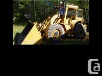 1968 Caterpillar 922B Loader. 1968 Caterpillar 922B