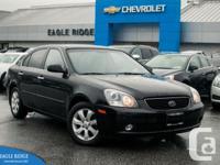 Leather & Heated SeatsKia Magentis is a 4 door sedan
