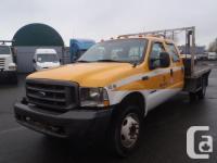 2003 Ford F-450 SD XL Crew Cab Flatdeck Dually Diesel