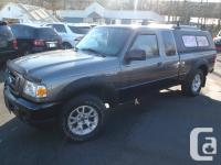 2008 Ford Ranger FX4/Off Road Super Cab. powered by a