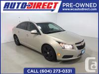 Fresh trade in! This 2011 Chevrolet Cruse has been well