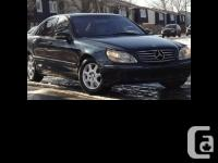 2000 Mercedes-Benz S500 PRICE REDUCED!!! FEATURES. -