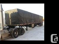 2008 Lode King Flatbed trailer 48 X 102, sliding front