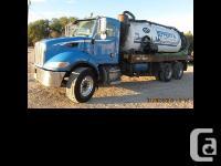 2006 Peterbilt 379 Vacuum Truck ISC315 315 at 2200, 315, used for sale  Manitoba