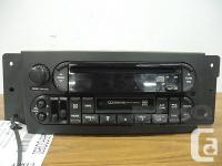 Used, 04 05 06 07 08 Pacifica AM/FM Cassette Player Radio OEM for sale  Manitoba
