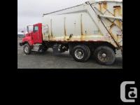 2010 Kenworth CONT 40 Rear Loading Garbage Truck $71