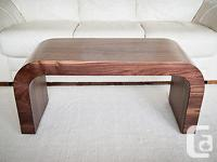 This staple shape coffee table isdesigned and