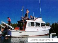 FRESH WATER 1982 LOWELL 37' TRAWLER Seller looking for