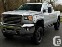 Lead by example in this 2015 GMC Sierra 2500 HD SLT.