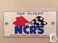 Selling my 1968-1972 NCRS Grill Medallion. This has
