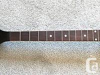 1920's Gibson Oriole tenor banjo neck.. A straight edge
