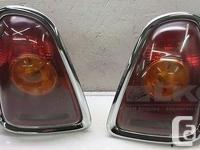 07 08 09 10 Mini Cooper Left & Right Tail Lamps OEM