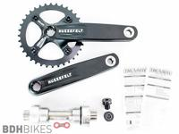 Truvativ Hussefelt 1.0 Crankset 165mm 36t with 83mm