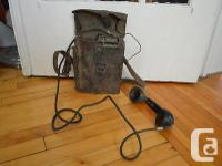 The item for sale is an Original Vintage Leather