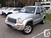 2002. Jeep. Liberty. 4X4. Auto. Low Kilometers!