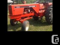 1981 Allis Chalmers 185 Tractor This classic tractor