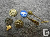 newhobby905 Store Lot six Vintage Educational Pins