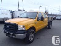 2007 Ford F-350 SD XL Crew Cab four wheel-drive 8 ft