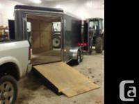 2014 American Hauler Cargo Trailer Great sled trailer,