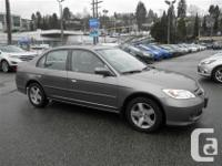 This 2004 Honda Civic Si Sedan Sunroof comes with our