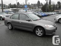 New In Stock! This 2004 Honda Civic Si Sedan Sunroof
