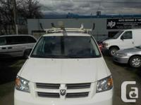 2008 DODGE GRAND CARVAN CARGO VAN WITH SHELVING AND