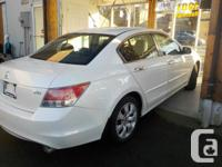 2008 HONDA ACCORD EXL V6 LETHER SUNROOF THIS UNITR IS